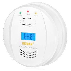 Detector de monóxido de carbono, con indicador de alarma