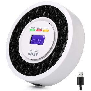 Detector monóxido de carbono con señal electroquímica de alta sensibilidad, con sensor de alarma
