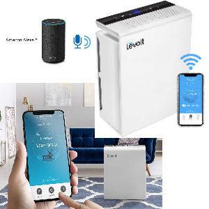 Filtro HEPA purificador de aire hasta 55 m2, con conexión wifi app, temporizador y monitor de calidad del aire