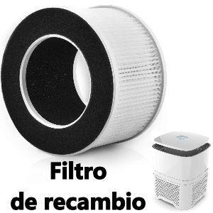Filtro para purificador de aire Pro Breeze con filtración HEPA