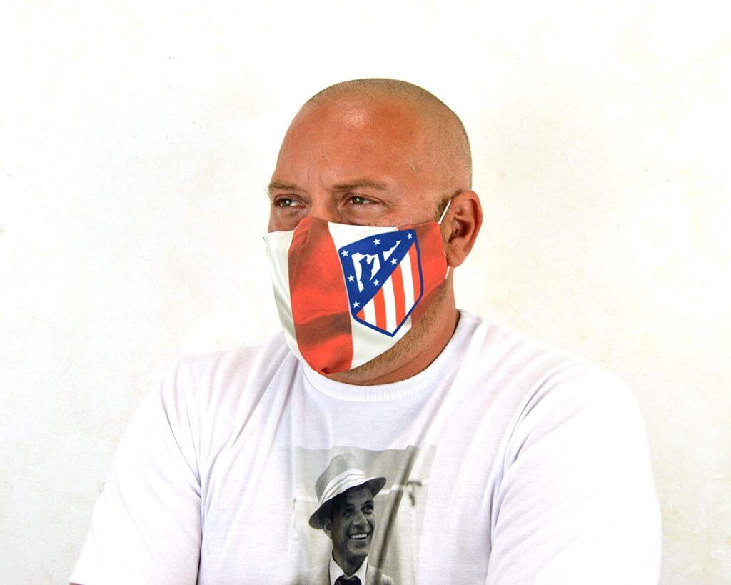 Mascarilla Atlético de Madrid