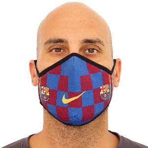 Mascarilla Barça homologada UNE 0065, mascarillas del futbol club Barcelona