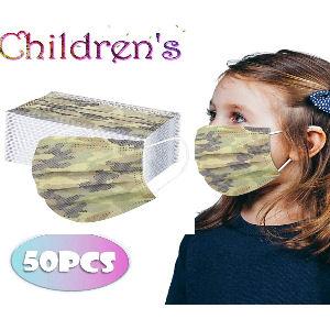 Mascarilla camuflaje para niños