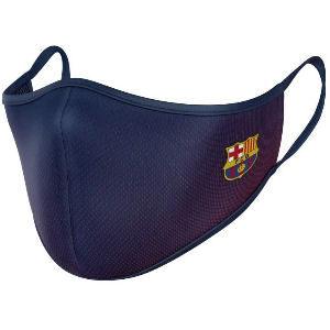 Mascarilla con el escudo del Barça Barcelona