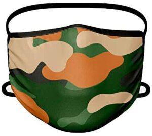 Mascarilla de camuflaje de tela homologada UNE 0065 2020 hasta 110 lavados