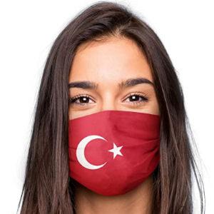 Mascarilla de Turquía reutilizable lavable