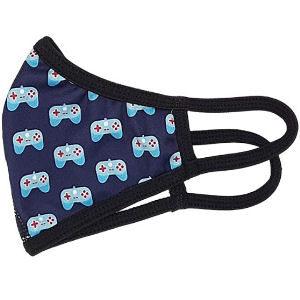 Mascarilla de videojuegos para niños, mascarilla con dibujo de mando de videoconsola