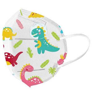 Mascarilla infantil de dinosaurios desechable