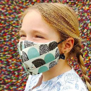 mascarilla reutilizable para niños de 7 a 12 años