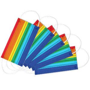Mascarillas arcoíris