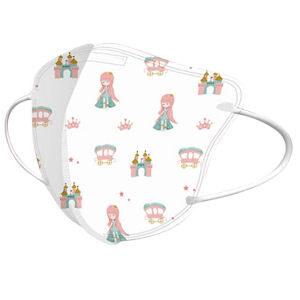 Mascarillas infantiles con princesas, carrozas y castillos