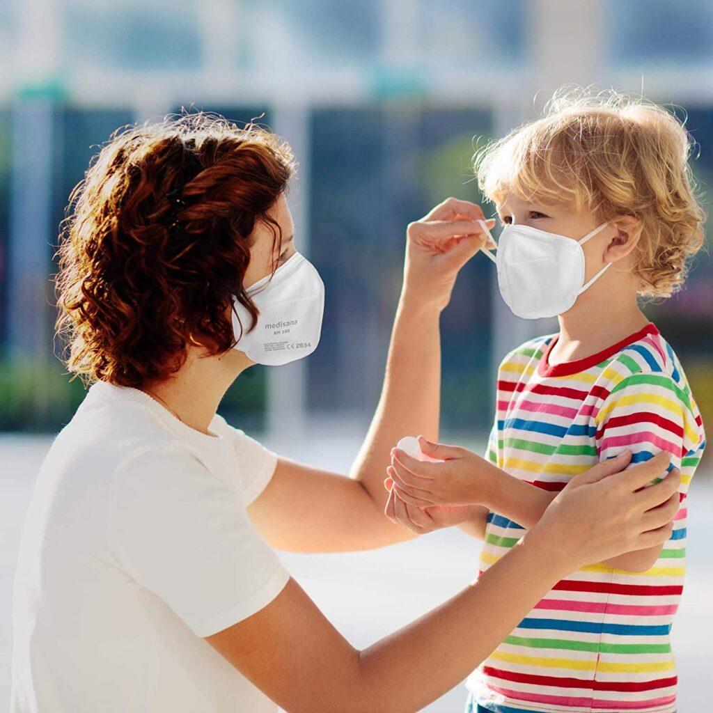 Mascarillas infantiles ffp2 para niños y adultos
