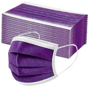 Mascarillas lilas pack de 50 unidades para adultos