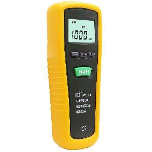 Medidor de monóxido de carbono de alta precisión, rango de 0 a 1000 ppm