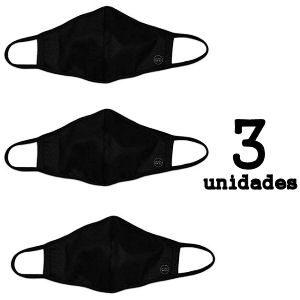 Pack de 3 mascarillas reutilizables UNE 0065 homologadas