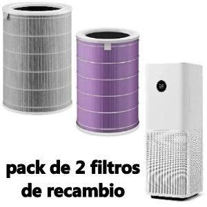 Pack de Filtro más filtro purificador para purificador de aire Xiaomi Mi Air