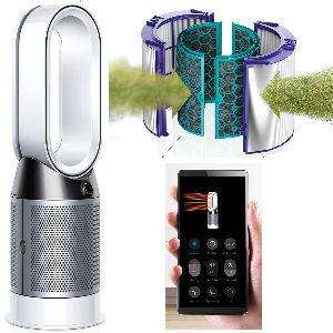 Purificador Dyson con filtro HEPA, Dyson Cool Air certificado para asma y alérgicos