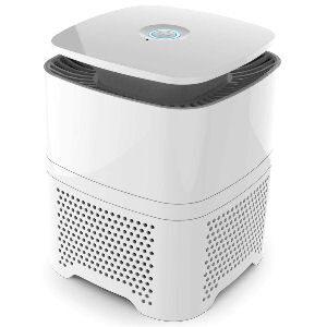 Purificador de aire Pro Breeze con filtración HEPA y carbón activado, con filtración por 4 etapas y generador de iones negativos