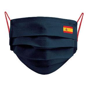 mascarilla España con bandera